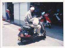 ぴぴのすけ(´・ω・`)さんのリード80SS リア画像