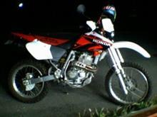 icegunさんのXR400R リア画像