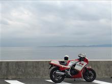 飛騨の赤影さんのCBR400F 左サイド画像