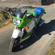 らんれびんさんのGPZ400R 左サイド画像