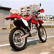 そく温泉さんのXR250 MD30 リア画像
