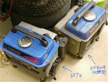 てぇかむ#ブルーインパルスさんの発電機 (発動発電機) メイン画像