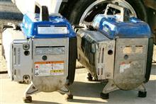 てぇかむ#ブルーインパルスさんの発電機 (発動発電機) 左サイド画像