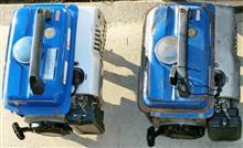 てぇかむ#ブルーインパルスさんの発電機 (発動発電機) リア画像
