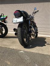 チョビ子さんのZ900 リア画像