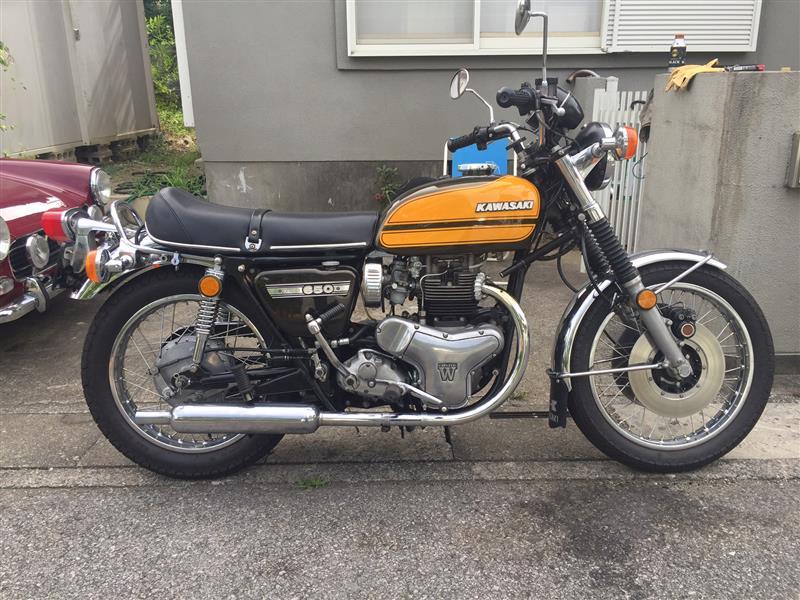 カワサキ W3RS650