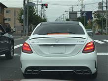 RENTAL親父さんのAMG C63 Perfomance Package リア画像