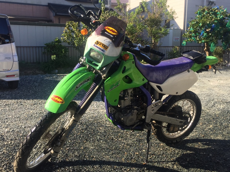カワサキ KLX250SR