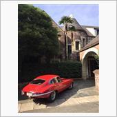 Red JaguarさんのEタイプ