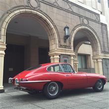 Red JaguarさんのEタイプ 左サイド画像