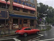 Red JaguarさんのEタイプ リア画像