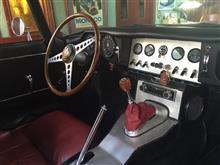 Red JaguarさんのEタイプ インテリア画像