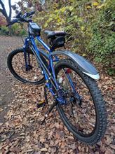 マイト@GRFさんのオリジナルデザインAWD自転車 リア画像