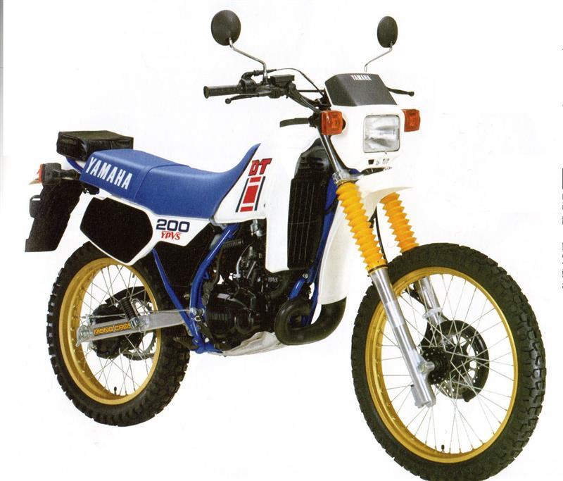 ヤマハ DT200R