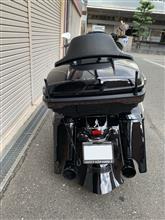evisuちゃんさんのロードグライドスペシャル リア画像