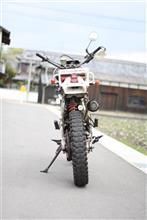 設備保全屋さんのXLR250R リア画像