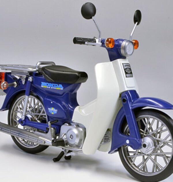 ましけさんのスーパーカブ50(AA04型)