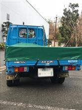 グラアイさんのボンゴトラック リア画像