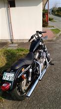 鶴マジェ★さんのスポーツスターXL1200R(ロードスター) リア画像