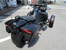 WaSさんのcan-am Spyder F3 Limited リア画像