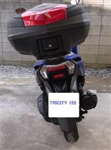 C4 PICASSO(370GT-SPさんのトリシティ155 リア画像