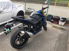 Packers FANさんのGSX-S750 ABS 左サイド画像