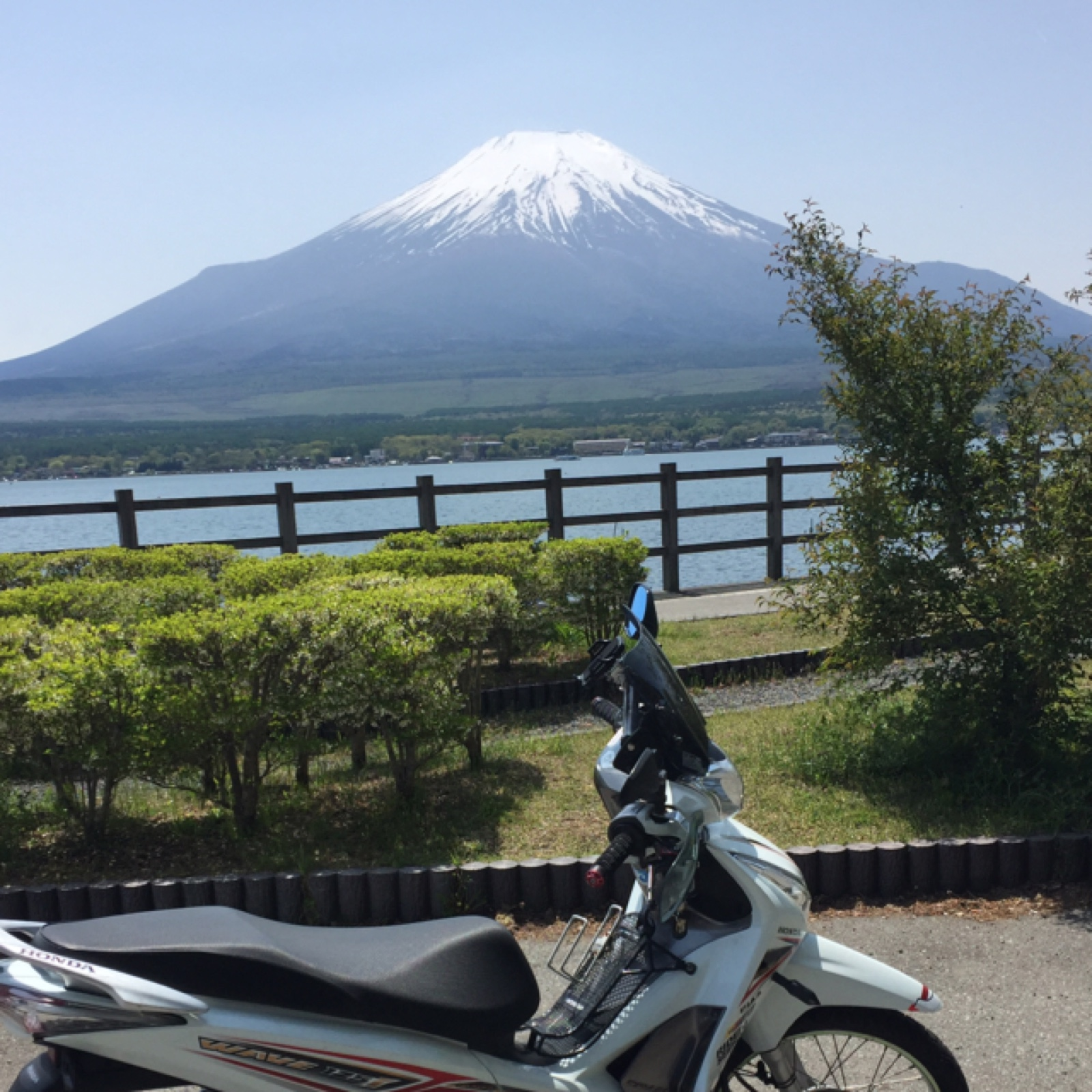 nabe23deathさんのWave125-i Helm in