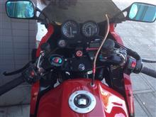 忍者と伝承とスクラムとZZRとKSRさんのGPZ900R インテリア画像