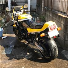 葵空 パパさんのFZ750 リア画像