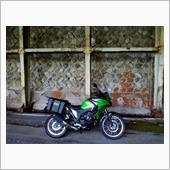 山波瀬朗さんのVERSYS-X 250 ABS TOURER