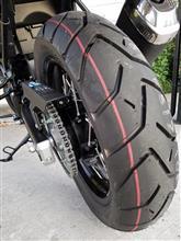 かずっぽBさんのV-Strom 650XT ABS リア画像