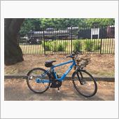 パパンダさんの自転車
