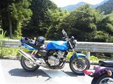 田子作@堀川椎子さんのCB400SF HYPER VTEC Revo (NC42) 左サイド画像