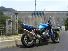 田子作@堀川椎子さんのCB400SF HYPER VTEC Revo (NC42) リア画像