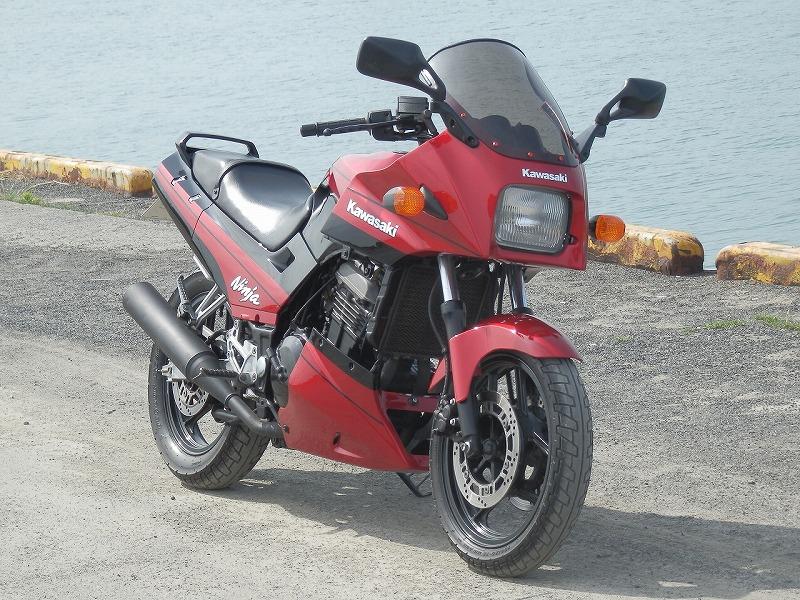 トシ兄さんのGPX250R