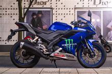 青いファンタジスタさんのYZF-R15 左サイド画像