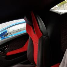 RED ランボルギーニさんのウラカン スパイダー リア画像