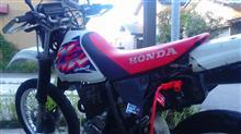 黒と黒さんの愛車:ホンダ XR250 MD30