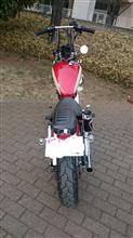 りおんぬさんのXV250 ビラーゴ リア画像