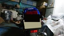 崩壊さんのFZR250R リア画像