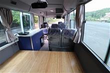 アレイトさんのジャーニーバス インテリア画像