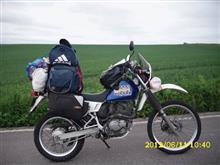 たくぺさんのジェベル200 左サイド画像