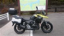 14toshiさんのV-Strom 250 左サイド画像