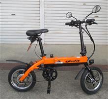 紺八親爺さんのglafitバイク 左サイド画像