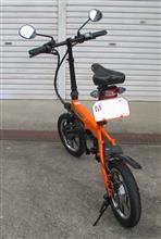 紺八親爺さんのglafitバイク リア画像