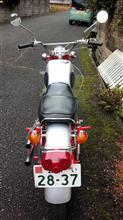 chanpuさんのドリームCL72スクランブラー リア画像