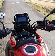 クマおやじさんのV-Strom 250 インテリア画像