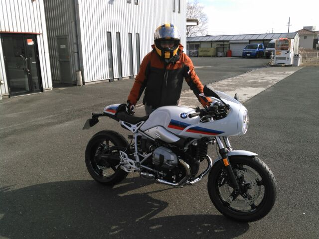 BMW R nineT Racer
