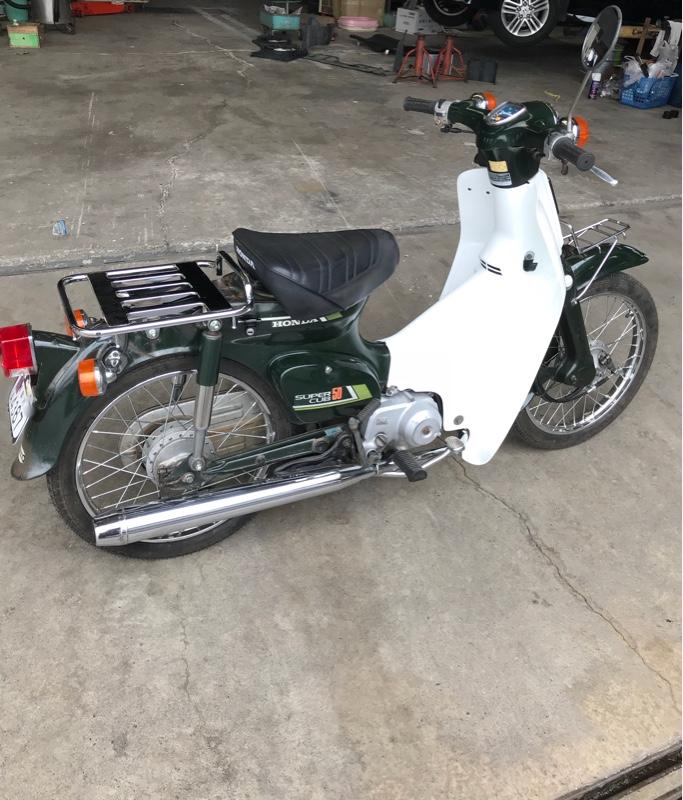 ホンダ スーパーカブ50デラックス