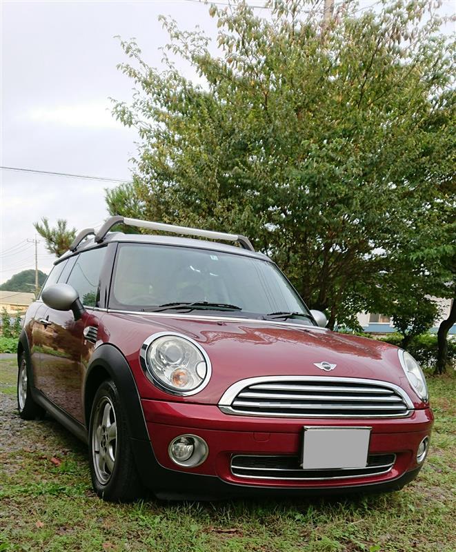 Taka NumaさんのMINI Clubvan
